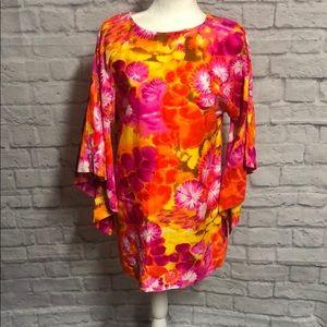 Vintage 60 Hawaiian dress
